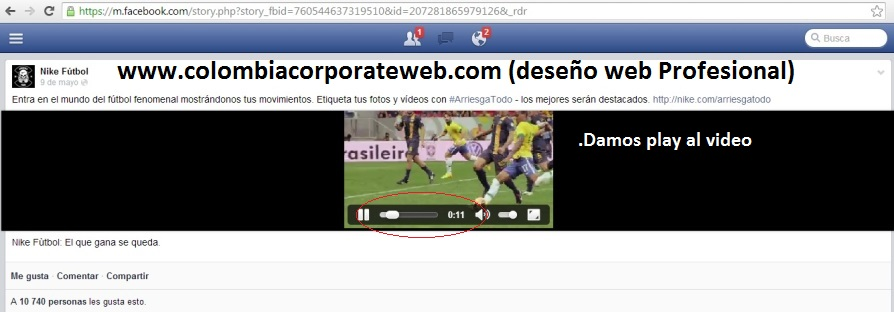 guardar videos del facebook en el computador